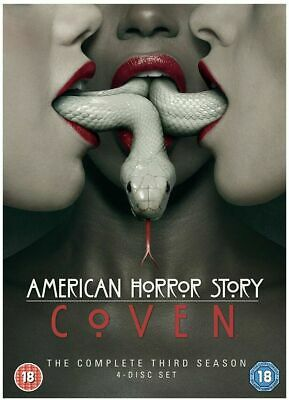 American Horror Story Season 3 Apocalypse DVD Box Set Brand New &Sealed Pack