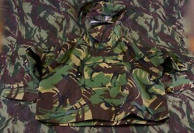 Old British Army DPM Protective NBC Suit Top Jacket SMALL No. 1 MK III 1985