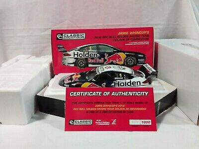 Classic Carlectible 1:18 Jamie Whincup 2018 Red Bull Holden ZB Commodore