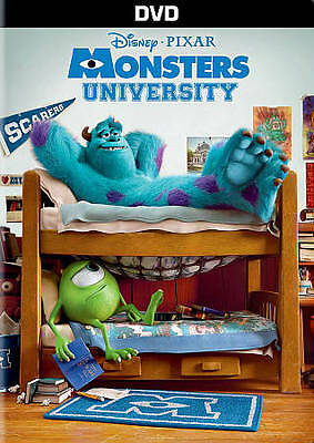 Monsters University (DVD ONLY _ No artwork, Will come in a blank DVD Case)