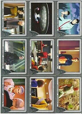 Star Trek 50th Anniversary 2017 Card Lot Only #34-78, #91, #94- 100 Rittenhouse