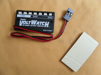 Rc Onboard Battery Meter Receiver Voltage Led Display for Traxxas Kyosho HPI