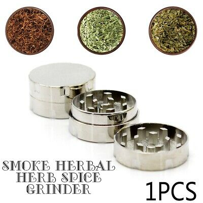 Metal Tobacco Crusher Smoke Herbal Herb Spice Grinder Hand Muller Spice 30mm