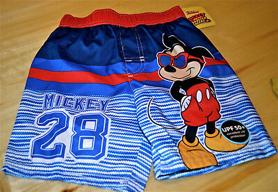 6f1e14f321 New Disney Mickey Mouse Toddler Boys Swim Trunks Size 4T Nwt Roadster  Racers 28