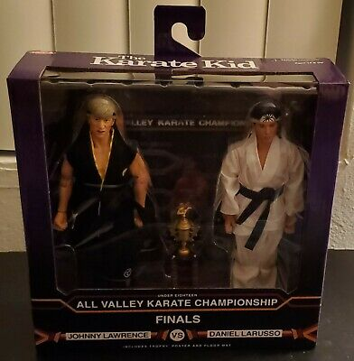 NECA Karate Kid Johnny Lawrence VS Daniel Larusso 2 Pack Tournament 1984