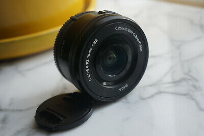 Sony 16–50mm Telephoto Lens Lense f/3.5–5.6 (SELP1650) - Compact, Low Use!