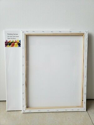 25 Artist 40x50cm Blank Canvas 280grms - Free Shipping!