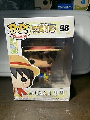 Funko Pop! Animation One Piece Monkey. D. Luffy Vinyl Rare Vaulted New In Box F6
