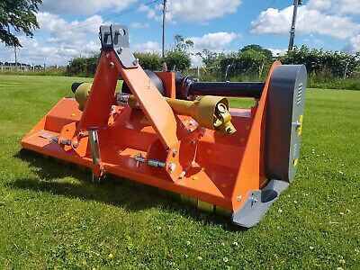 Alpha Maxi 145 flail mower. Free UK mainland delivery. only £1420 inc VAT!!!