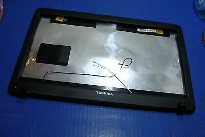 "Toshiba C650D C655-S5212 15.6/"" Genuine LCD Back Cover W// WIFI Antenna v000220020"