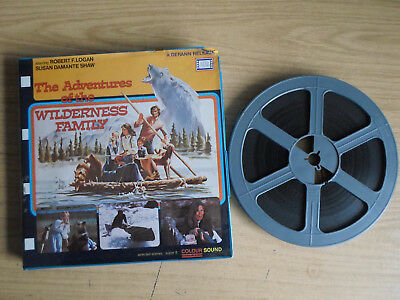 Super 8mm sound 1x400 THE ADVENTURES OF THE WILDERNESS FAMILY. Robert F Logan.