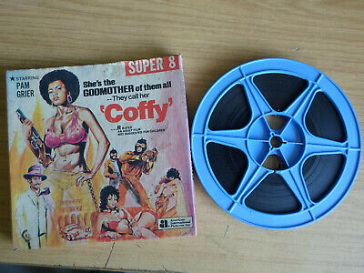 Super 8mm sound 1x400 COFFY. Pam Grier violent thriller.