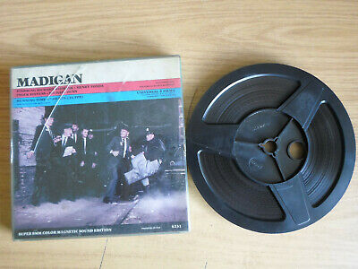 Super 8mm sound 1x400 MADIGAN. Richard Widmark, Henry Fonda.