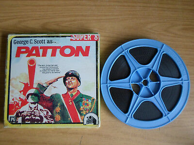 Super 8mm sound 1x400 PATTON. George C Scott classic.