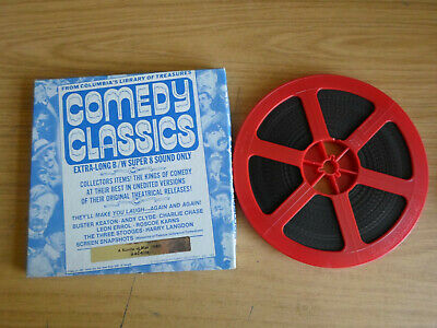 Super 8mm sound 1x400 A BUNDLE OF BLISS. Andy Clyde classic comedy.