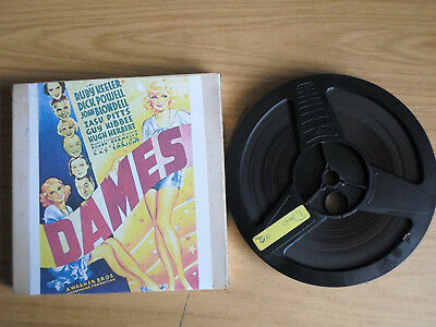 Super 8mm sound 1x400 DAMES Part 2. Busby Berkeley musical.