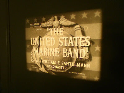 16mm sound UNITED STATES MARINE BAND. Warner Bros short release.