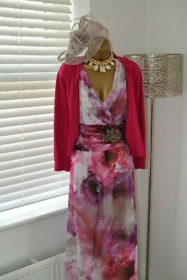 ~ LITTLE MISTRESS & ROMAN ~ BNWT Maxi Dress & Bolero Size 20 Mother of Bride