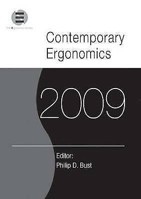 Contemporary Ergonomics 2009. Proceedings of the International Conference on Con