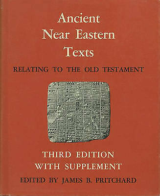 Ancient Near Eastern Texts Relating to the Old Testament with Supplement (Hardba
