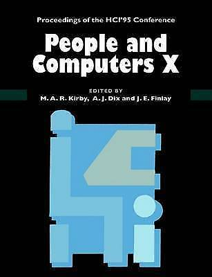 People and Computers X. Proceedings of the HCI '95 Conference (Paperback book, 1