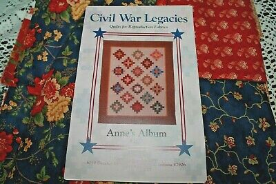 Civil War Legacies Anne's Album Quilt Kit Early 19th Century for Moda Fabrics