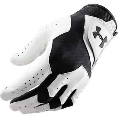 Under Armour Mens UA CoolSwitch Leather Golf Glove Left Hand for RH Golfers