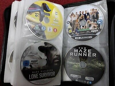4K Ultra Hd Blu Ray Disc Only  Any Three Movies Special Limited Offer