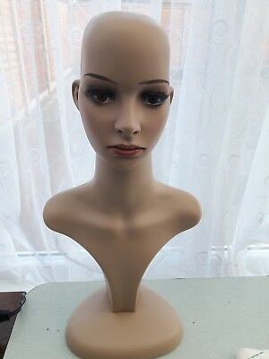 Female Mannequin Head Model Stand Manikin Wigs Hats Display Holder****