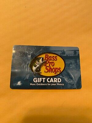 $100 Bass Pro Gift Card In Store Or Online