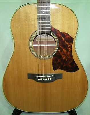 Takamine CRN-TS1 Slope Shoulder 12 Fret acoustic electric Dreadnought w/case