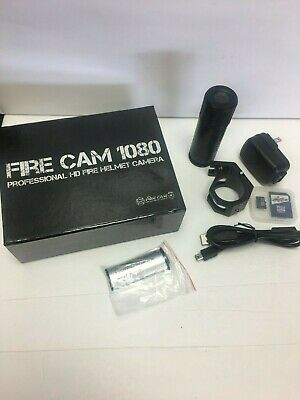 Fire Cam 1080 Fire Helmet Camera with BlackJack Mount and 16GB SD card