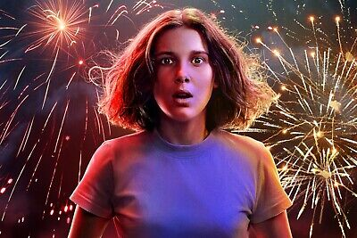 Stranger Things Season 3 Eleven Wall Poster 24x36 inches