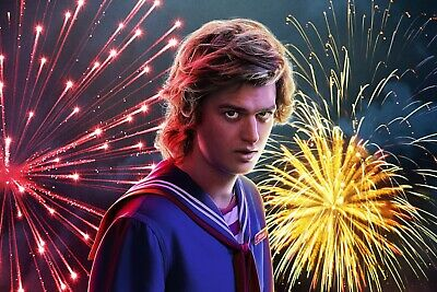 Stranger Things Season 3 Steve Wall Poster 24x36 inches