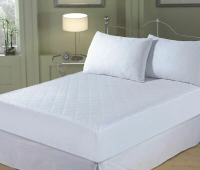 Extra Deep Quilted Mattress Mattress Protector Fitted Bed Cover:all Sizes