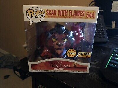 Chase Scar Flames Funko Pop! Disney Treasures The Lion King Box Hot Topic 544