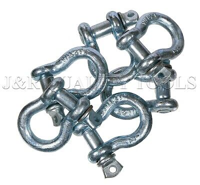 """10 Pack 1/2"""" Bow Shackle Clevis Screw Pins Anchor Rigging / 2 Ton"""