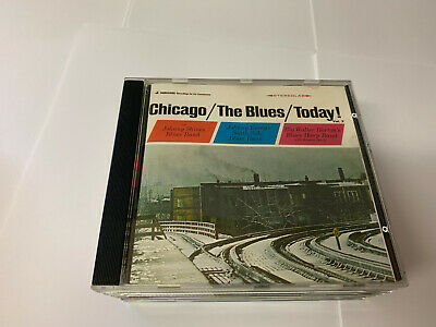 """CHICAGO THE BLUES TODAY """"Vol.3"""" (CD) 1966  - MINT"""