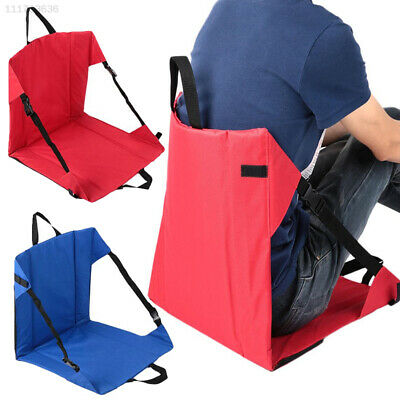 5721 Clip-On Portable Folding chairs Camping Outdoor Side Hiking Chair Seat Tool