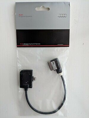 Audi 4F0051510AC Adapter for Apple with Lightning Port