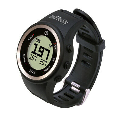 2017 GolfBuddy WT6 Golf GPS Watch Black NEW