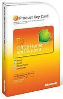 MS Microsoft Office 2010 Home and Student Product Key Card (PKC) NEW SEALED BOX