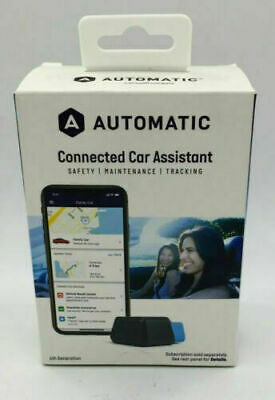 Automatic - Connected Car Assistant Adapter and Service - Blue