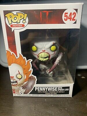 Funko Pop! It! #542 Pennywise With Spider Legs! G7