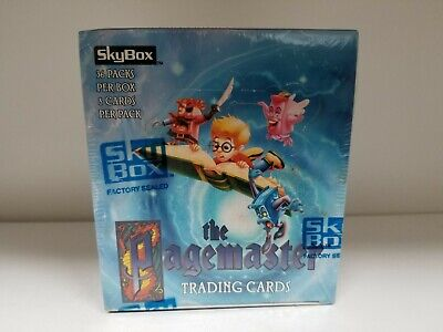 The Pagemaster Collectible Unopened Trading Card Pack Box by SKYBOX 1994