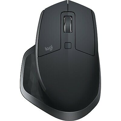 Logitech MX Master 2S USB Optical Ergonomic Bluetooth Wireless Mouse for PC Mac