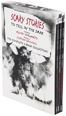 Scary Stories Paperback Box Set  Alvin / Gammell,Stephen Schwartz 1900, Book