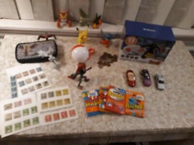 Huge Junk Drawer Lot - Coins, Video Game, POKEMON, Wax Packs, More (2)