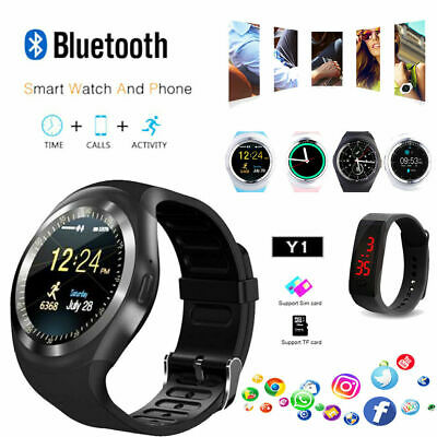 Smart Bluetooth Y1 WristWatch Popular Phone Clock Display For IOS Android iPhone
