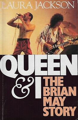 Brian May Queen and I bij Laura Jackson The Brian May Story paperback